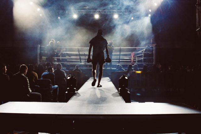 Livet är en omgång i boxningsringen